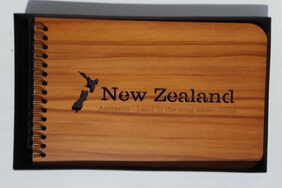 NZ Made Wooden Photo Album / New Zealand Aotearoa