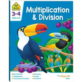School Zone - Multiplication & Division 8-10years