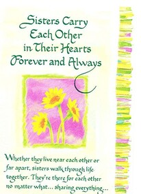 Gift Card - Sisters Carry Each Other In Their Hearts