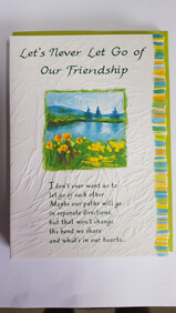 Gift Card - Let's Never Let Go of Our Friendship