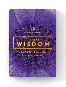 Affirmation Boxed Cards / Jewels of Wisdom