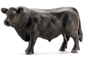 Schleich Collectable - Black Angus Bull