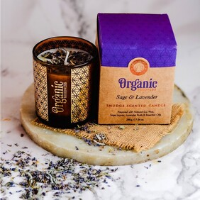 Organic Goodness - Smudge Scented Candles